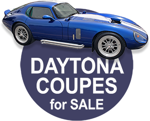 Daytona Coupes for sale-Shelby Superformance Daytona Coupes for sale page internal hyperlink button