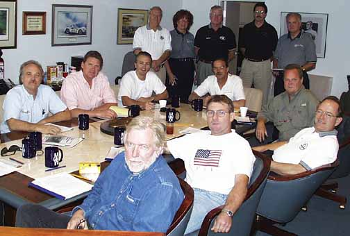 Shelby-American dealers meeting at Las Vegas Motor Speedway, 1998. Photo by Curt Scott