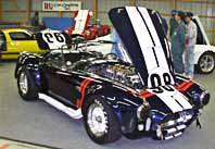 Steve Jacques' 427SC E.R.A. Cobra, 3/4-frontal shot