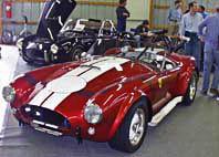 E.R.A. red & white 427 Cobra at Carlisle, Pennsylvania show, 1998