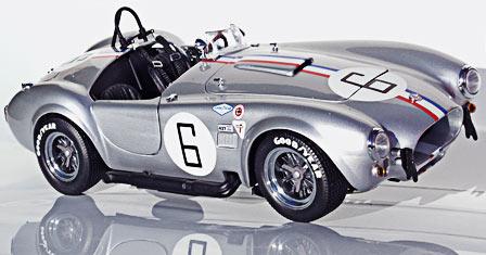 Kyosho silver #6 USRRC 427 racing Cobra