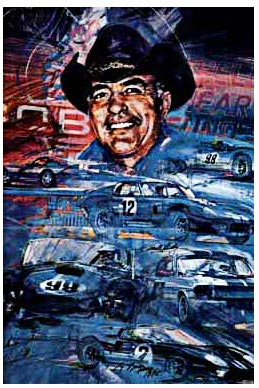Tribute to Carroll Shelby by George Bartell