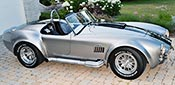 broadside shot thumbnail image of Titanium Superformance 427SC Shelby classic Cobra for sale, SPO2454