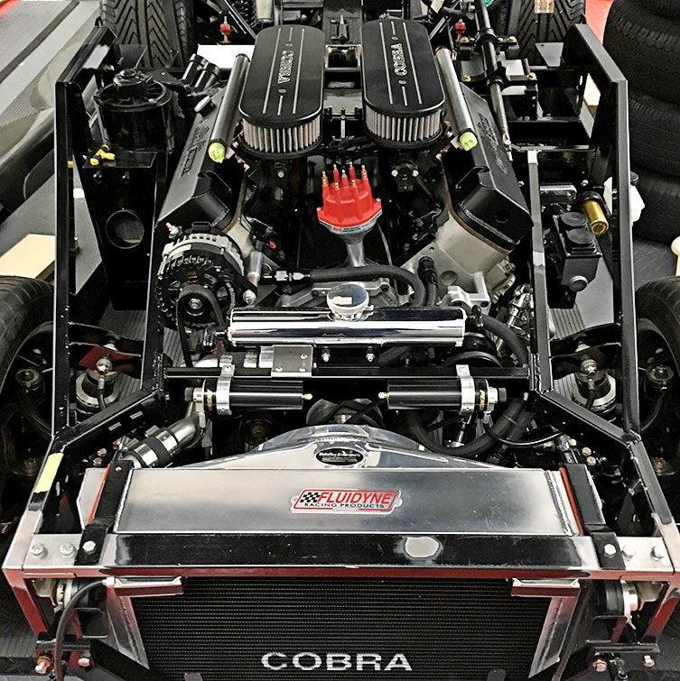 460 engine photo#1 of uncompleted West Coast Cobra for sale, replica of classic Shelby 427 Cobra