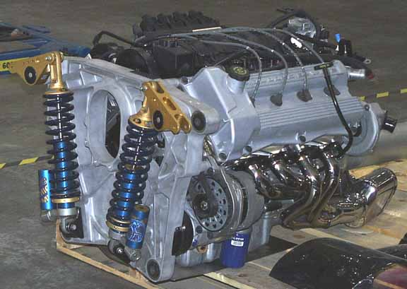 Shelby Series 1 Oldsmobile aluminum engine, ready for installation
