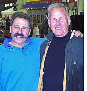 kit car Cobra Nationals, 1998, portrait of Peter Portante and Peter Bayer