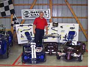 kit car Cobra Nationals, 1998, the late Rich Anderson of Shell Valley Companies