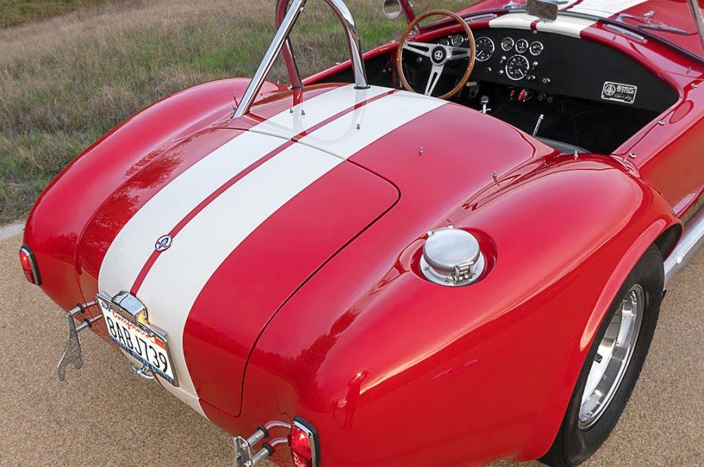 Shelby Cobra rear quarter CSX4229