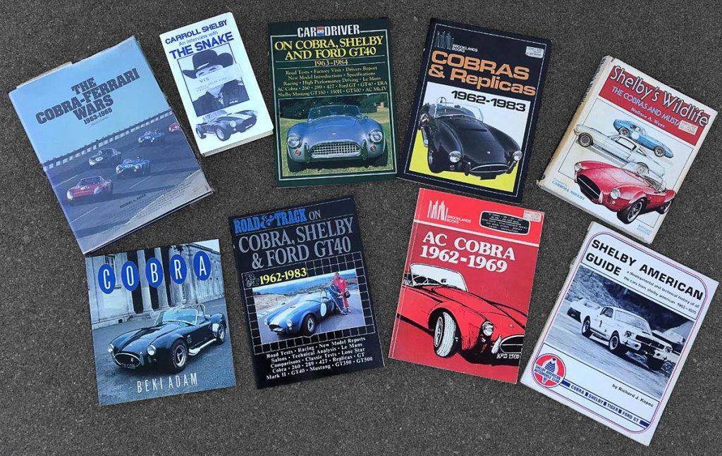 Shelby Cobra books CSX4229