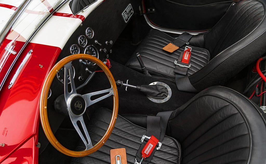 Shelby Cobra cockpit CSX4229
