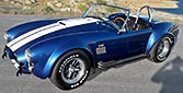 3/4-frontal thumbnail image of Guardsman Blue Superformance 427SC Shelby classic Cobra for sale, SPO#0813