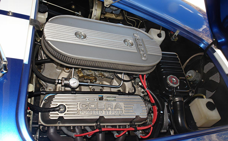 engine photo#2 of Guardsman Blue Superformance 427SC Shelby classic Cobra for sale, SPO#0813