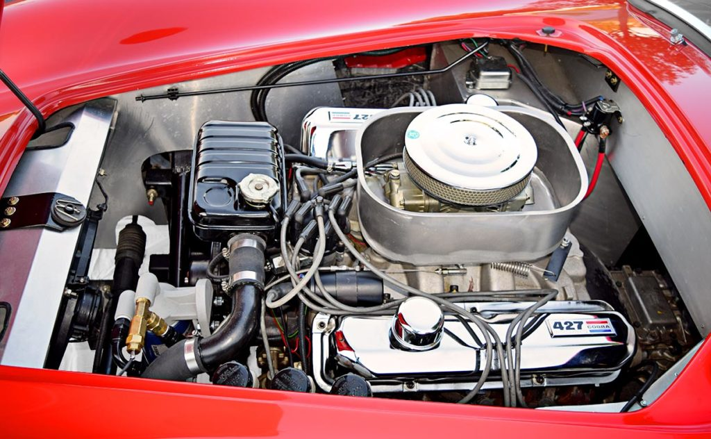 427 engine photo #1 of Rangoon Red Hurricane Motorsports 427SC Shelby classic Cobra for sale, #HM1021