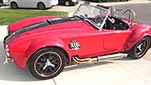 broadside shot thumbnail image of Salsa Red Backdraft Racing 427SC Cobra for sale, BDR722