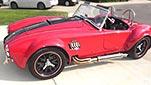 broadside shot thumbnail image of Salsa Red Backdraft Racing 427SC Cobra for sale, BDR722