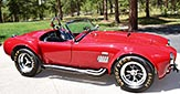 broadside thumbnail image of Guards Red Shelby 427SC Shelby classic Cobra for sale, CSX4228
