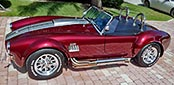 broadside thumbnail image of Prism Red 427SC Shelby classic Backdraft Cobra for sale by owner