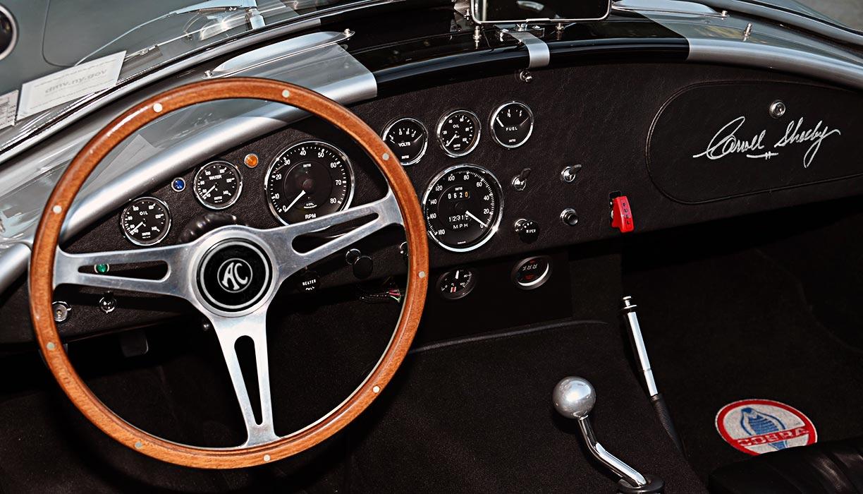 dashboard shot#3 of Stuttgart Silver/black stripes 427SC Shelby classic Superformance Cobra (SPO1388 ) for sale by owner