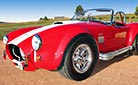 3/4-frontal thumbnail image of Monza Red Superformance 427SC Cobra for sale by owner, SPO#0666