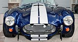 head-on frontal thumbnail image of Viper Blue Hurricane Motorsports 427SC Shelby classic Cobra replica for sale by owner