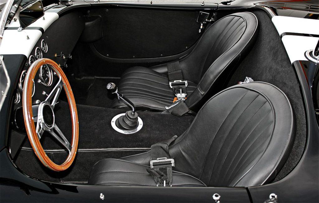 MidStates Shelby Cobra cockpit