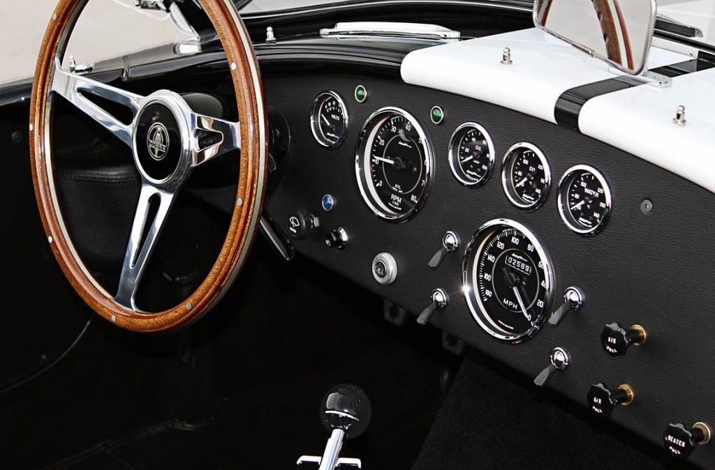 MidStates Shelby Cobra dashboard