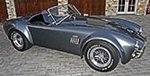 broadside thumbnail image of Superformance MkIII 'Street Version' 427 Cobra for sale by owner, SP03339. Dark silver/black upholstery.