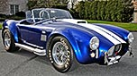 /4-frontal (passenger side) thumbnail image (passenger side) of Royal Blue Superformance 427SC Shelby classic Cobra for sale, SPO2464