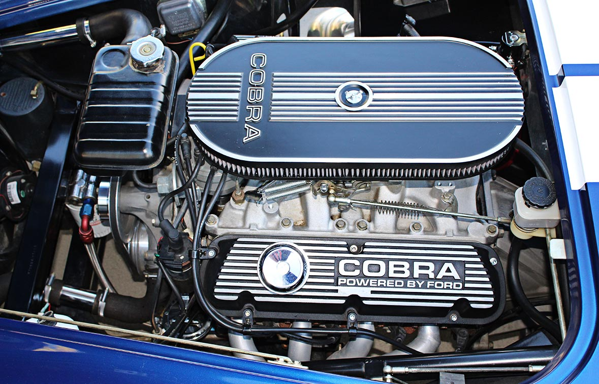 engine photo#1 of Royal Blue Metallic 427SC Shelby classic Superformance Cobra, SPO#0456 for sale by owner