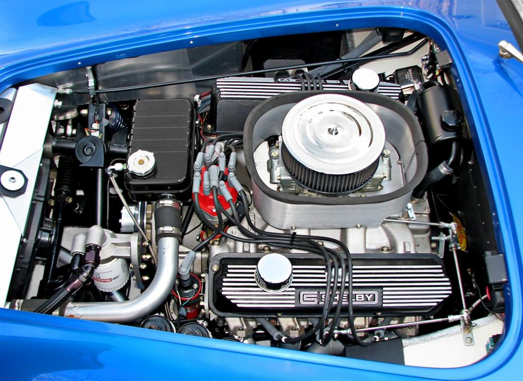 engine photo#1 of Intense Blue Pearl Shelby 427SC Cobra for sale, CSX6045