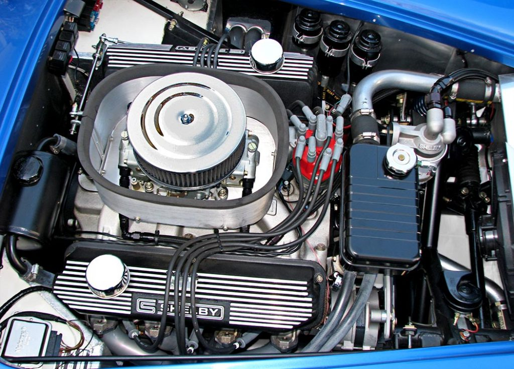 engine photo#2 of Intense Blue Pearl Shelby 427SC Cobra for sale, CSX6045