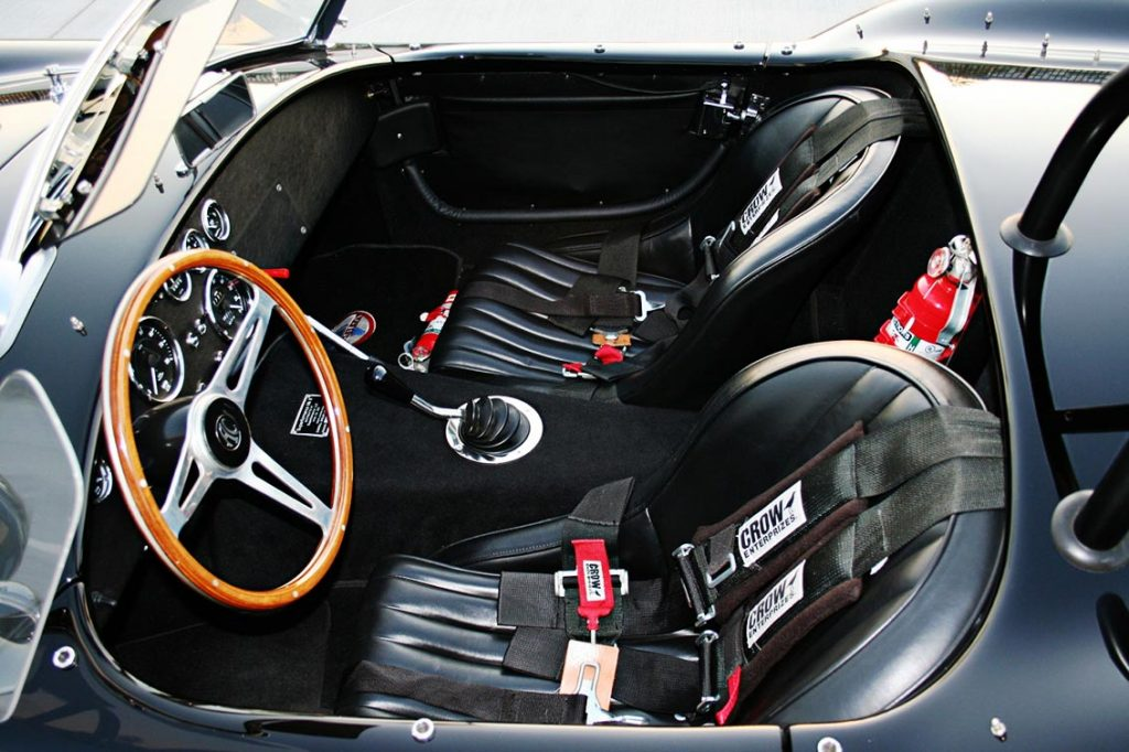 Superformance Cobra cockpit