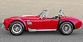 broadside (driver side) thumbnail image of McDonald Red 427SC Shelby classic 427S/C Cobra for sale by HRE Motorcars, CSX4297