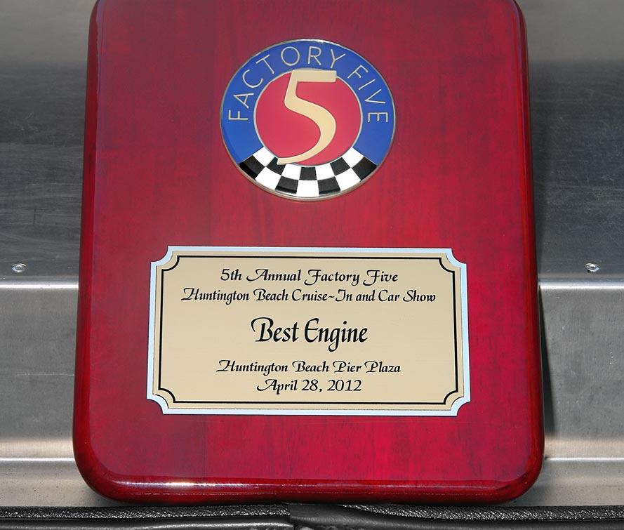 FFR MkII best engine plaque
