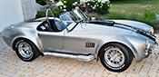 broadside shot thumbnail image of Titanium Superformance 427SC Shelby classic Cobra for sale, SPO2454