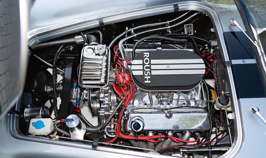 427 Roush engine photo#1 Titanium Superformance 427SC Shelby classic Cobra for sale, SPO2454