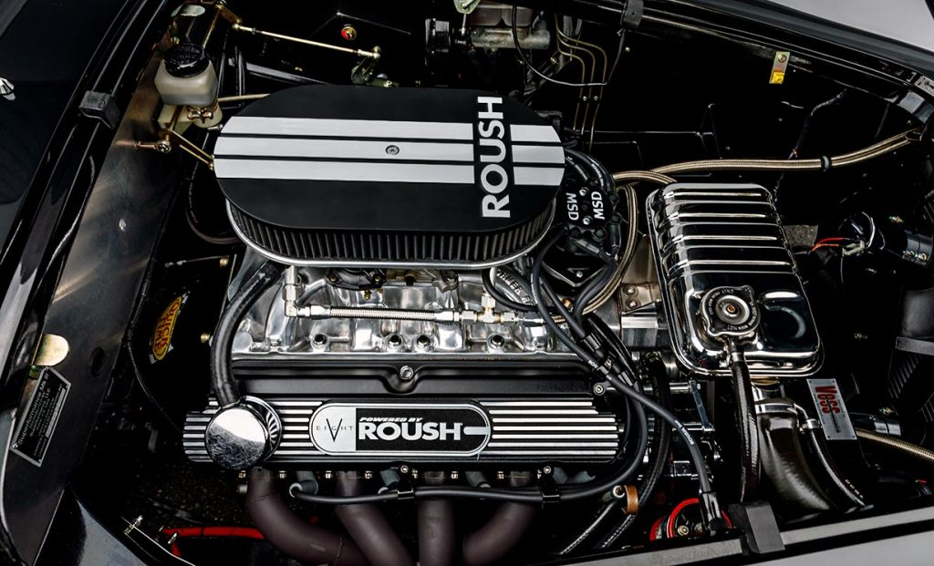 Photo of Roush 402SR V8 in black Superformance 427SC Cobra for sale, SPO2980