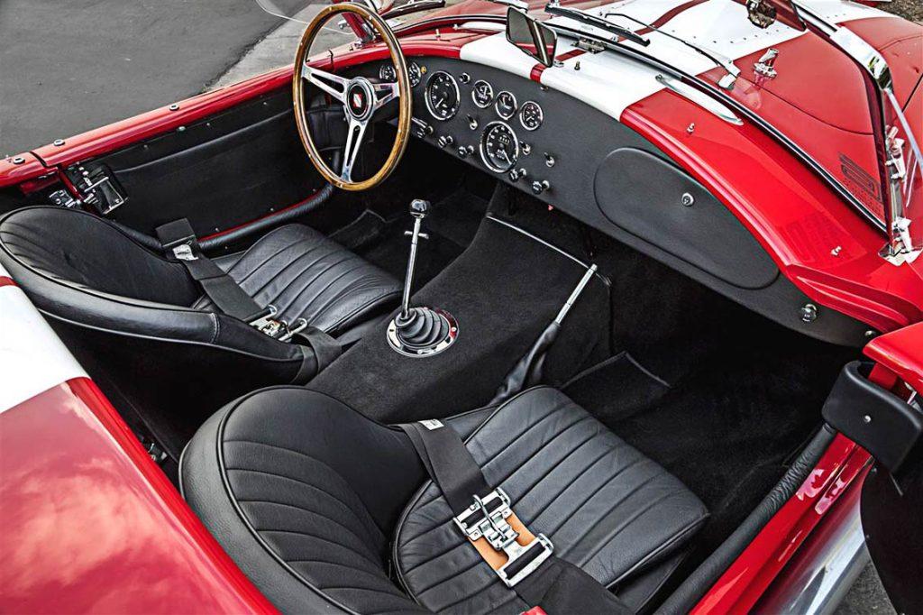 Superformance Cobra interior