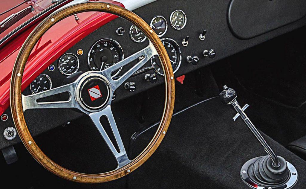 Superformance Cobra steering wheel