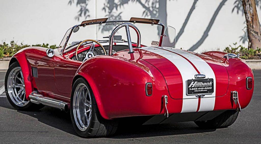 Superformance Cobra rear qtr.