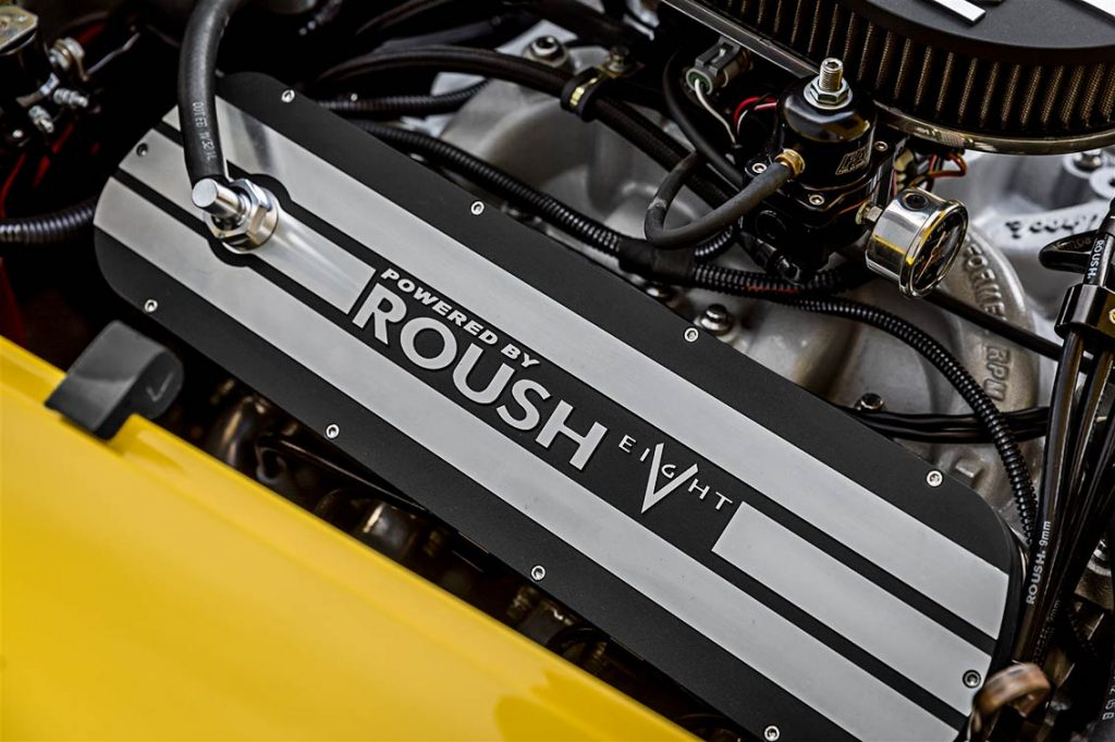 Shelby Cobra Roush engine