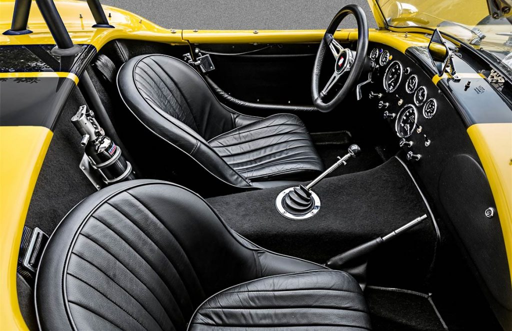 Superformance Cobra interior