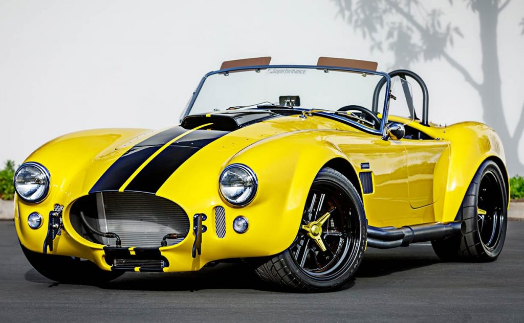 Superformance Cobra MkIII front qtr.