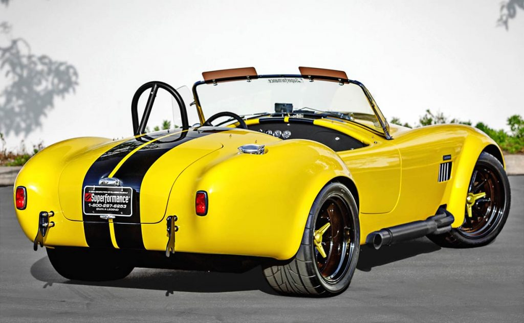 Superformance Cobra rear