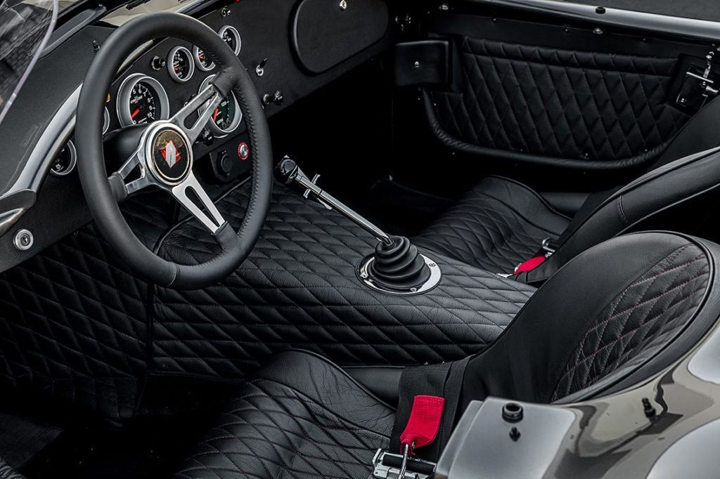 seating area shot#1 of Grigio Silverstone Superformance 427SC Cobra for sale, SPO3392