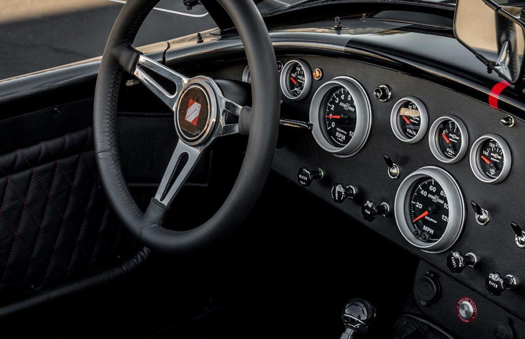 dashboard shot#1 of Grigio Silverstone Superformance 427SC Cobra for sale, SPO3392