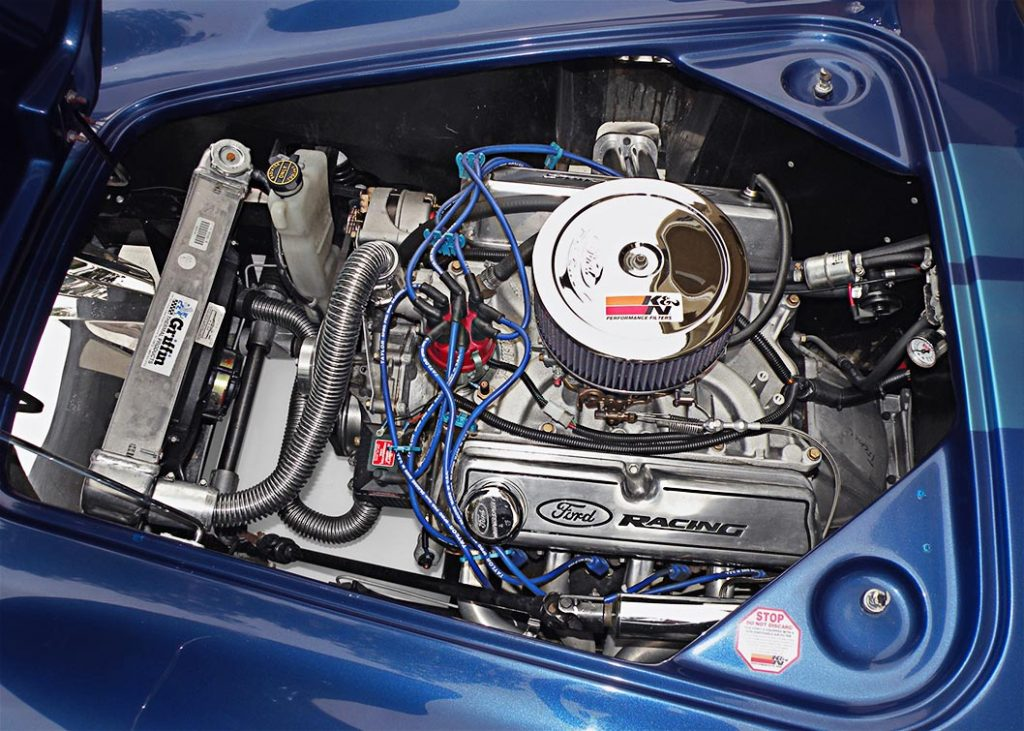 Lone Star Shelby Cobra engine