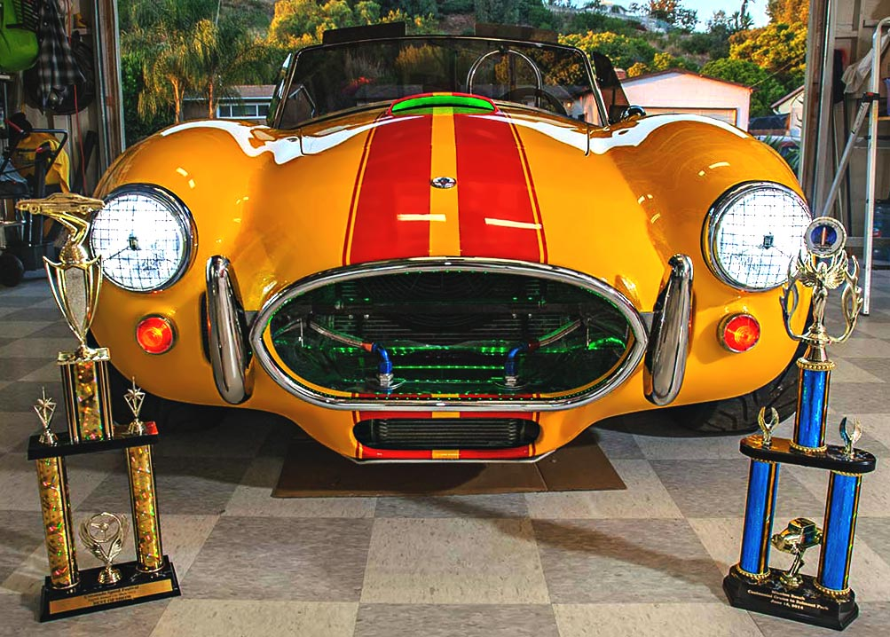 SMC Shelby Cobra trophies