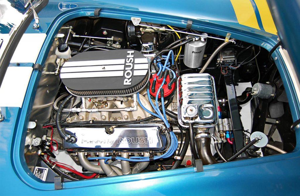 Superformance Shelby Cobra engine