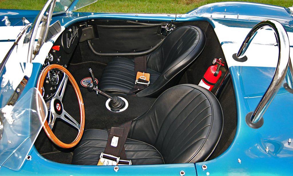 Superformance Shelby Cobra interior